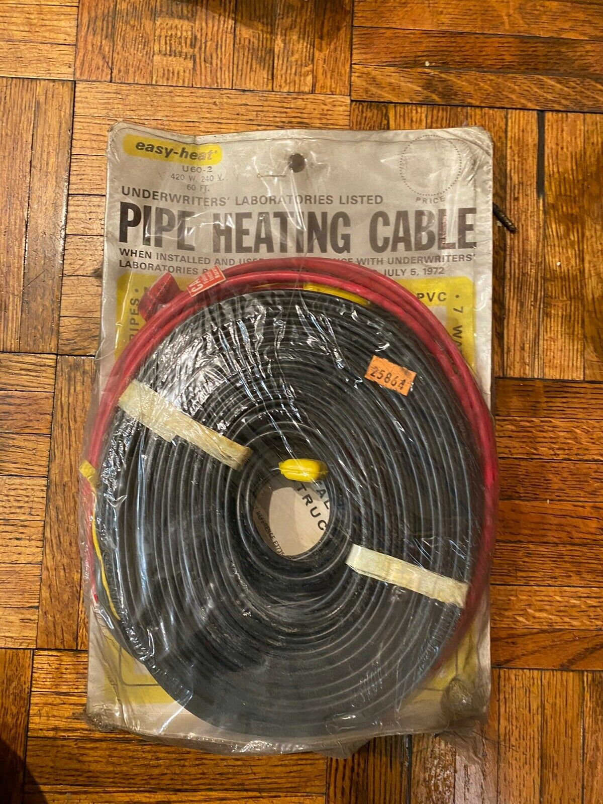 13.12 FT EGS Easy Heat HB04-2 Pipe Heating Cable 240V 4 M