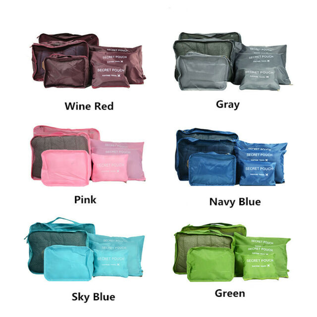 Waterproof Portable Travel Storage Bag Organizer Clothes Shoes Packing Bag Pouch
