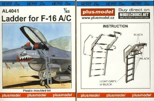 Ladder for F-16A//C Leiter für Modell-Bausatz 1:48 NEU OVP tipp kit Plus Model
