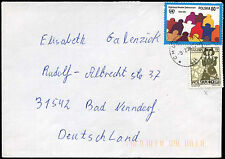 Poland 1998 Cover To Germany #C21212