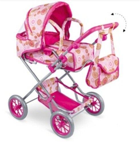 Ladenaufloesung-Soldes 2in1 Luxe poupées voiture combi avec porte-bébé