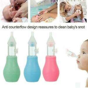 Beauty  Baby Nasal Vacuum Mucus Suction Aspirator Soft Tip Runny Nose Cleane  es