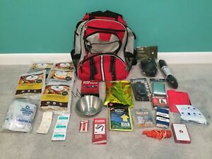 Image Is Loading Bug Out Bag Survival Backpack Hiking Camping Emergency
