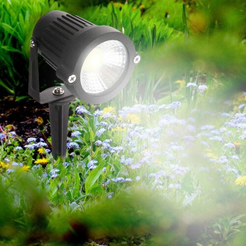 LED Garden Spike Lights Outdoor IP65 Yard Path Landscape Spotlight 240V Mains