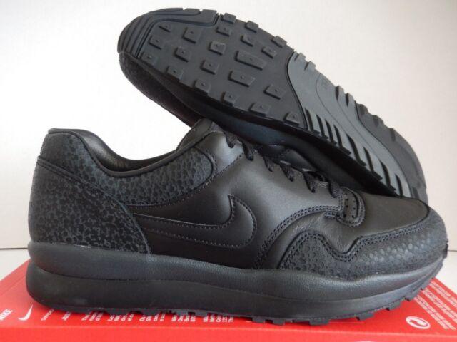 Nike Air Safari Air Max 1 QS Black-black-anthracite Sz 11 Ao3295-002 ... 823e3c1630350