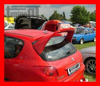 "PEUGEOT 206 REAR ROOF SPOILER "" WRC "" - TUNING-GT"