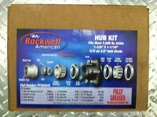 Idler Hub 3500 LB Trailer Axle Kit, Fully Greased, Includes all.  PPG84545-1