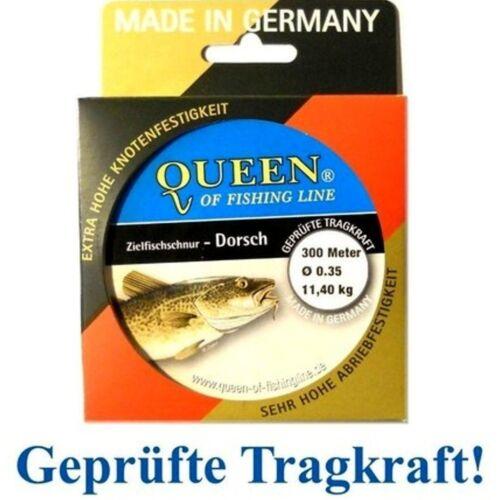 Zielfisch-Schnur Queen of Fishing Line Dorsch 0,35mm 11,4kg 300m