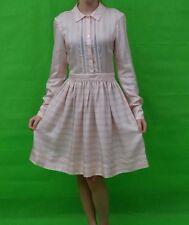 Temperley London Mini Oyster Almond Mix Sample Silk Dress Size UK 8 ........ #*6