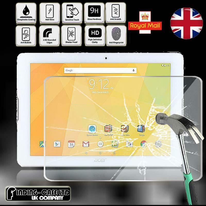 Tempered Glass Screen Protector For Acer Iconia One 10 B3-A20 10.1/'/' Tablet 9H