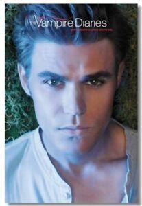 Vampire Diaries Seasons 5 6 Ian Somerhalder Art Wall Cloth Poster Print 509