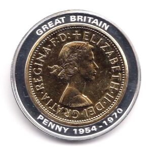1964 proof pre decimalisation 1 penny inlay elizabeth ii britannia image is loading 1964 proof pre decimalisation 1 penny inlay elizabeth publicscrutiny Images