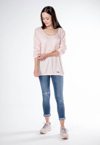 Alife /& kickin Women Manches longues Chemisier Dana Blouse Ice ou Candy RRP 39,99 €