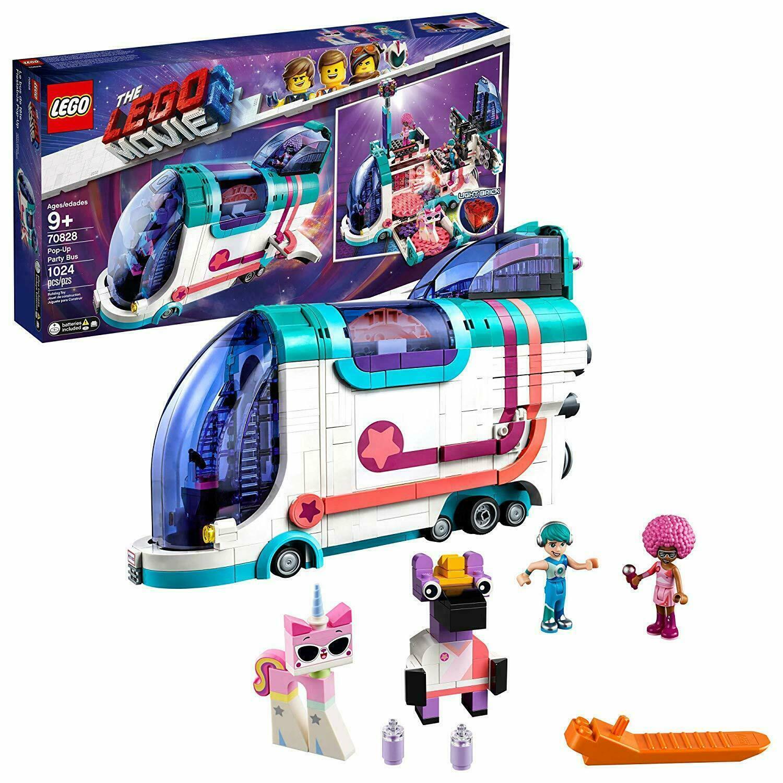 LEGO Movie 2 Pop Up Party Bus Set (70828) - 1024pcs - NEW