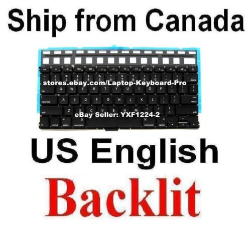 Keyboard for Apple MacBook Air A1369 A1466 US English Backlit