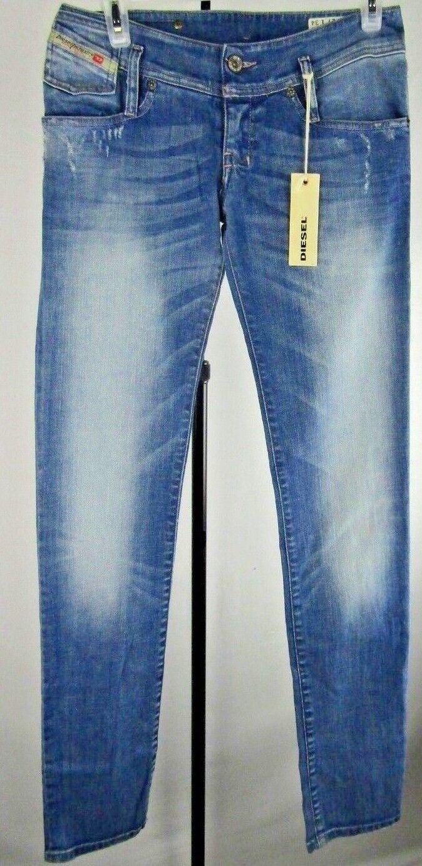 Diesel Matic Ladies Medium bluee Wash Trouser Size 27×34