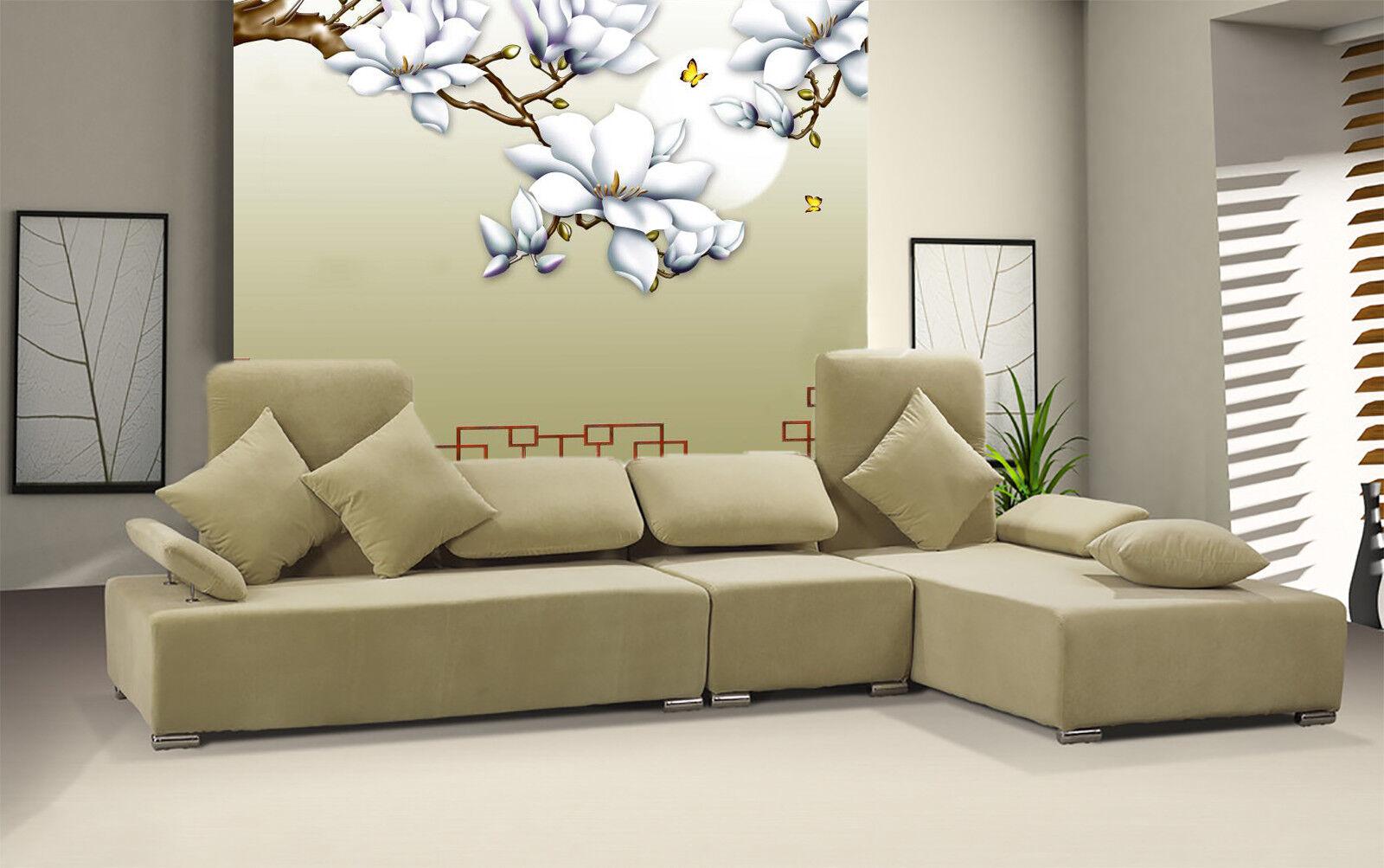 3D Nature Flower 77 Wallpaper Mural Wall Print Wall Wallpaper Murals US Carly