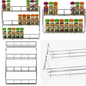 HOT-1-6Tier-Kitchen-Spice-Rack-Cabinet-Organizer-Wall-Mount-Storage-Shelf-Holder