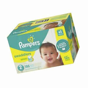 pandas print polybag The Honest Company Disposable diapers newborn 40 Count
