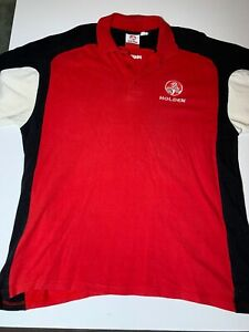 Holden-polo-shirt-XL-2003-Great-Condition-Red