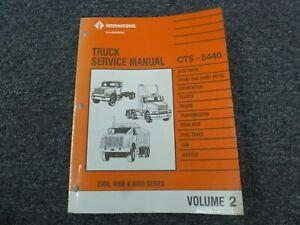 1993-1994 international 2554 2574 2654 truck electrical wiring diagrams  manual   ebay  ebay