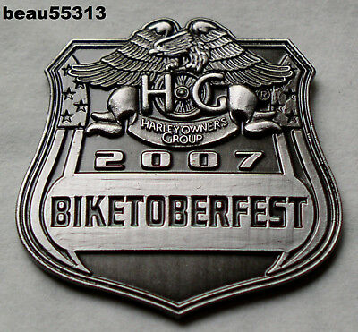 HARLEY DAVIDSON HOG OWNERS GROUP PIN  CHAPTER EVENT 2004