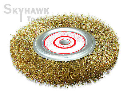 """6/"""" X 1//2/""""  Wire Wheel Brush  4 laps for Angle Grinder  4,500 RPM"""
