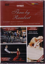 DVD THREE BY RAMBERT Intimate Pages, Lonely Town Street, Sergeant Early's Dream