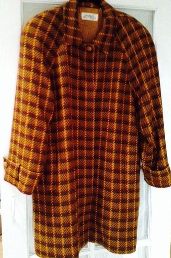 ELLEN TRACY Wool And Cashmere Coat Geblackus Size 6
