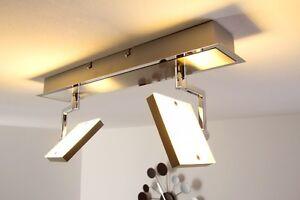 Plafoniere Da Salotto : Plafoniera lampada da soffitto desin moderno salotto faretti quadrati
