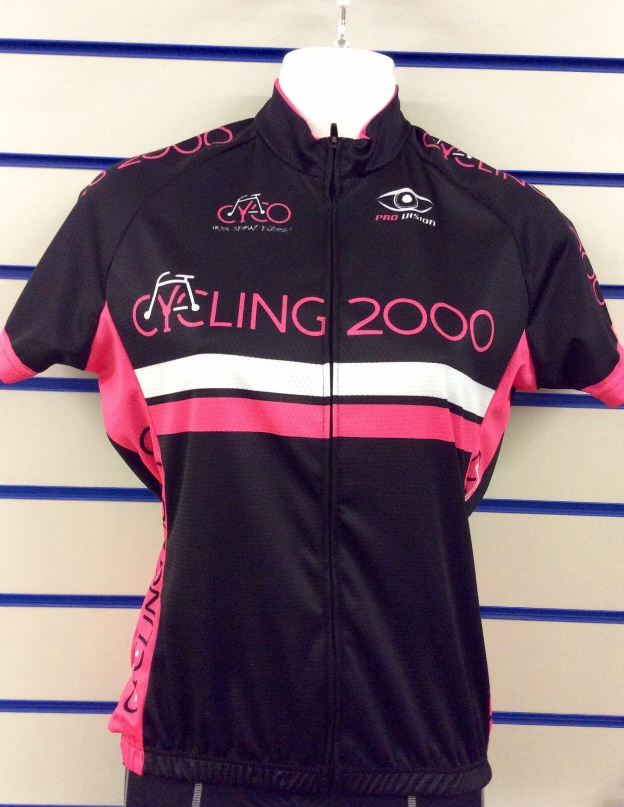 PRO Vision Donna Ciclismo in jersey