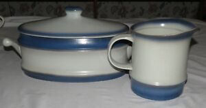Goebel-Country-Auvergne-TWO-Items-Pitcher-amp-Lidded-Casserole