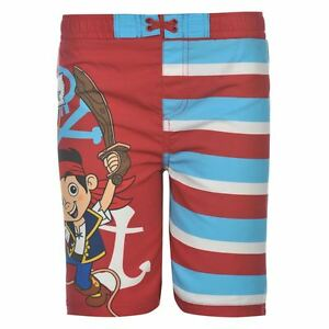 34bee221e2 DISNEY Jake & The Neverland Pirates BOARD SHORTS BOARDIES SWIM Boys ...