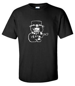 Slash Cartoon 80S Rock Music Mens T-shirt