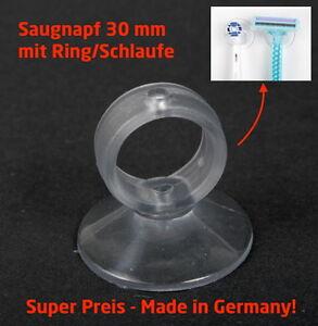 Saugnapf-30-mm-Ring-Loch-Zahnbuerstenhalter-Rasiererhalter-Saugnaepfe-Aquarium