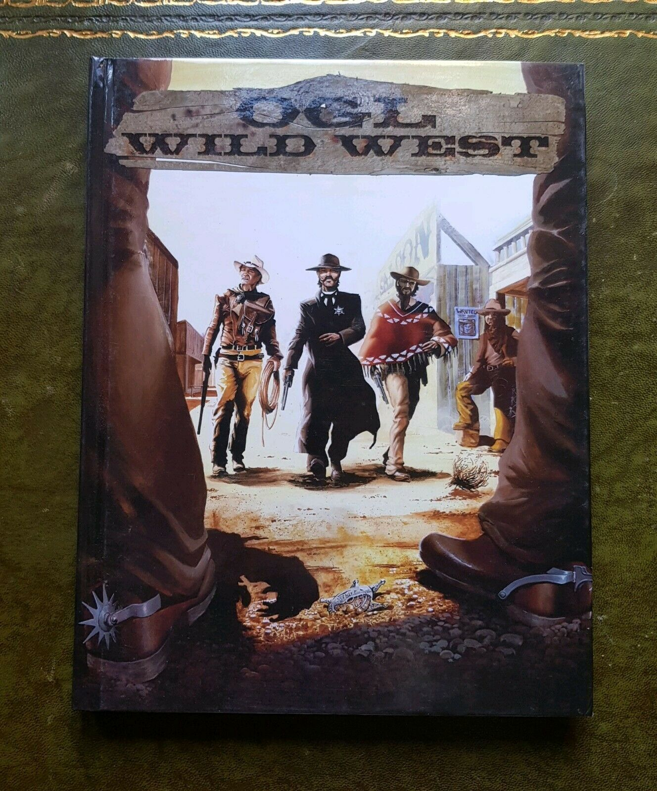 OGL WILD WEST - CORE CORE CORE BOOK RPG ROLEPLAYING DND D20 D&D 3 3.5 ROLEPLAY WESTERN 6bc01d