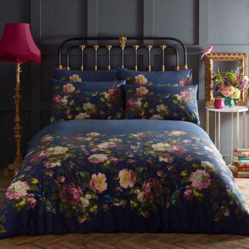 Oasis Sets de couette Designer Floral Literie 100/% coton Bouquet de la Renaissance