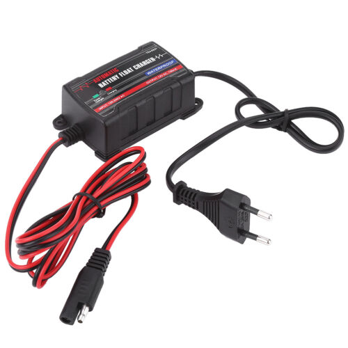 0.75A 6V 12V Automatic Lead Acid Battery Charger for Car Motorcycle ATVs EU Plug