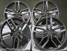 "18"" ALLOY WHEELS FITS AUDI A3 S3 A4 S4 A6 Q3 Q5 TT ROADSTER GMF"