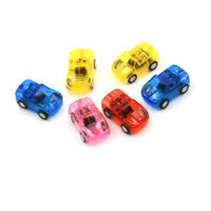 2pcs Baby Toys Plastic Pull Back Cars Toy Mini Car Model Kids Toys *