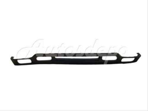 FOR 99-02 SIERRA 1500 2500 3500 FRONT CHROME BUMPER BRACKET VALANCE W//FOG HO