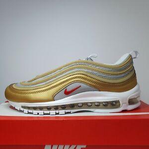 Nike Air Max 97 SSL Shoes Metallic Gold Silver BV0306-700 Men's ...