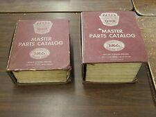 OEM Ford 1957 - 1968 Truck Master Parts Books F100 Econoline 1958 1959 1960 1961
