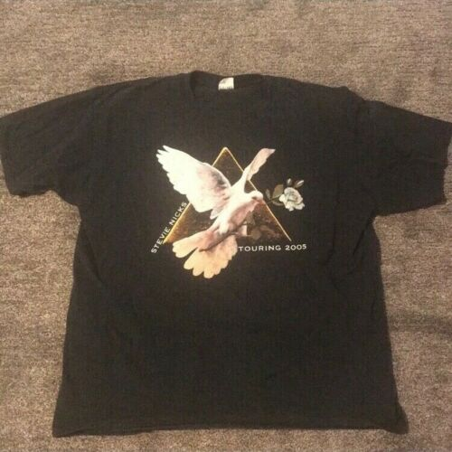 Stevie Nicks 2005 Gold Dust Tour Concert T-shirt