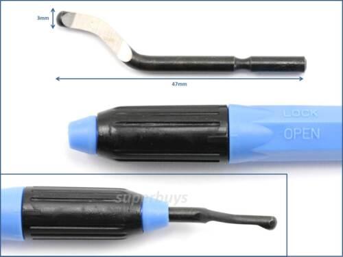 NOGA Hand Held Burr Blade BS1010 Deburring Deburing Edge Remove NB1100 Tool