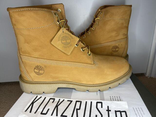 Tarjeta postal Profesión Restricciones  NEW Timberland Men's Basic Boots Nubuck Waterproof Size 10 TB010066 6 Inch  Wheat for sale online
