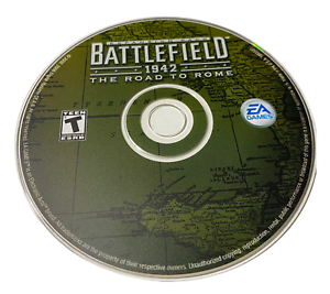 Battlefield 1942 The Road to Rome Disc Only PC Game