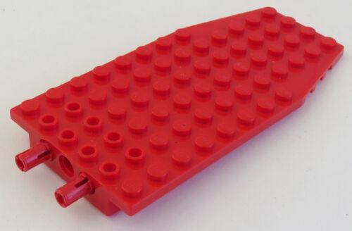 LEGO Flügel rot # 42607c01 Platte / Wedge Plate 6 x 12 x 1 mit 2 Pins