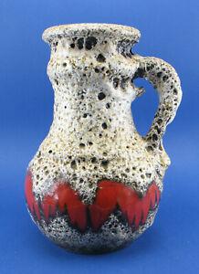 Scheurich-496-18-70er-Keramik-Vase-Fat-Lava-true-vintage-wgp-ceramic-space-age