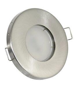 badeinbaustrahler 5w led einbaustrahler ip65 gu10 230v bad feuchtraum spot lampe ebay. Black Bedroom Furniture Sets. Home Design Ideas